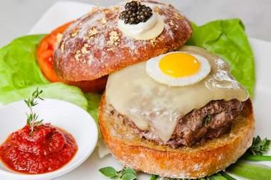 Le Burger Extravagant at Serendipity 3