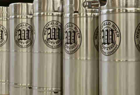 Canisters at Westfield River Brewing Company