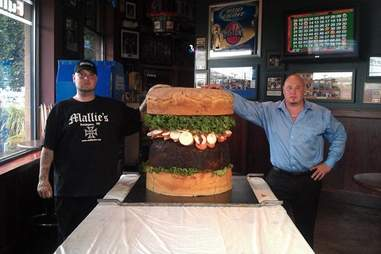 The Absolutely Ridiculous Burger