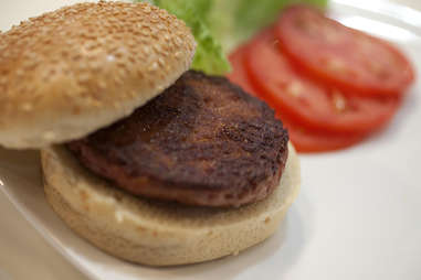 Cultured Beef Burger