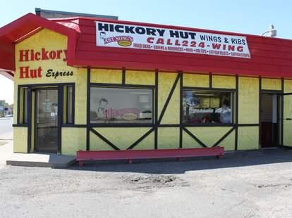 Hickory Hut exterior