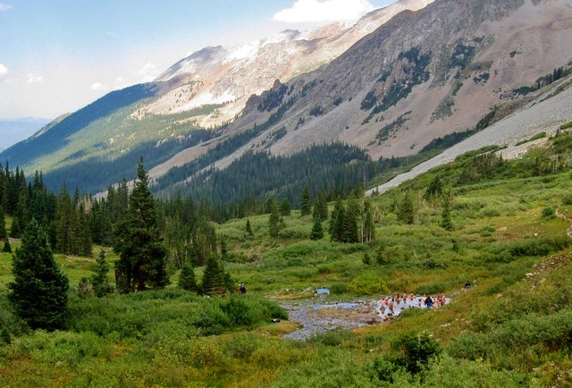 A hike that ends with a secret party