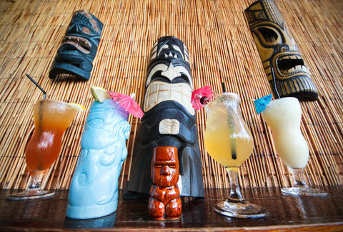 Tiki Bar at Jack Rose Main