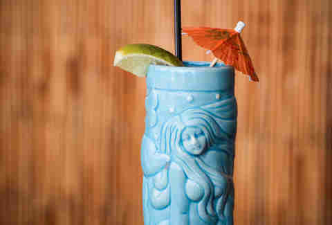 Tiki Bar at Jack Rose Honi