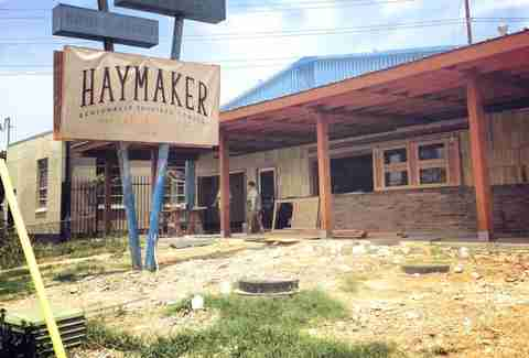 Haymaker unfinished exterior