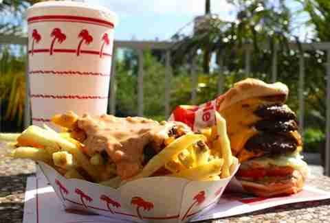 In-N-Out meal