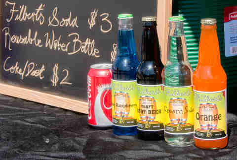 Filbert's craft sodas at The NOSH in Wicker Park