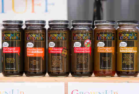GrownUpKidStuff's chocolate sauces at The NOSH in Wicker Park