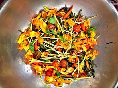 Fresh vegetables at Park 75 in Atlanta