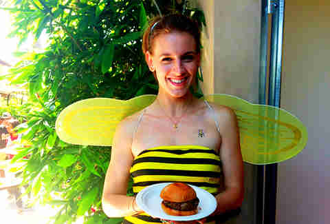 Bee Girl + Burger
