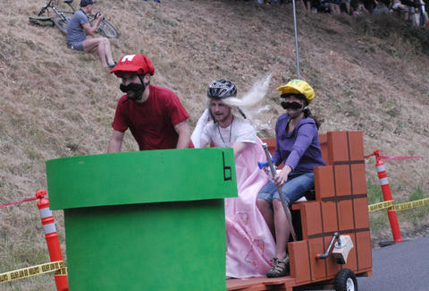 The Portland Adult Soapbox Derby