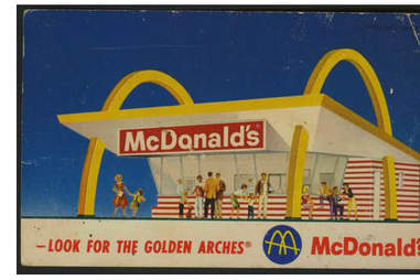 Look for the Golden Arches McDonald's