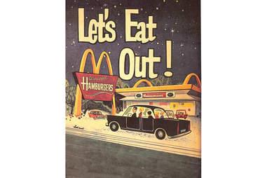 Let's eat out McDonald's
