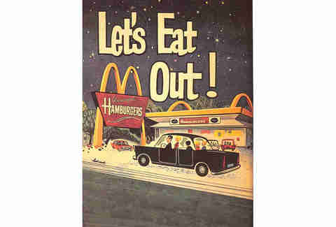 Let's eat out McDonald's