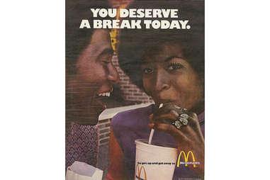 You deserve a break today McDonald's