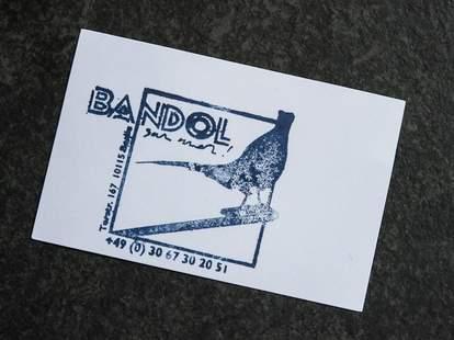 Bandol sur Mer's business card
