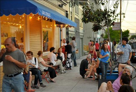 Humphry Slocombe's exterior - San Francisco
