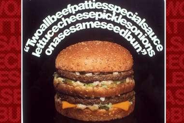 Two all beef patties McDonald's
