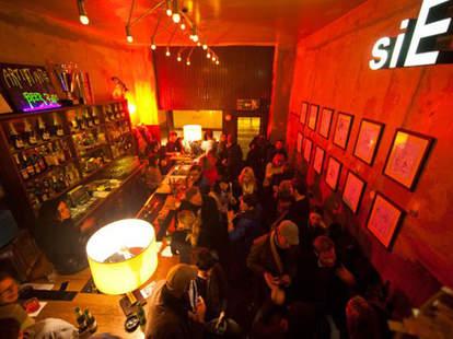 Interior of King Size Bar