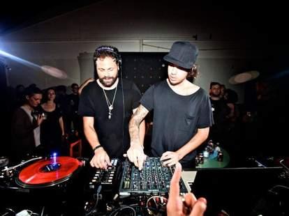 DJs inside BBMC