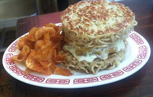The next evolution of the ramen burger deliciously knocks off Minetta Tavern's Black Label