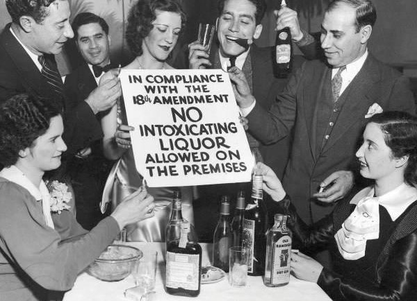 Two days of Prohibition-style drinking
