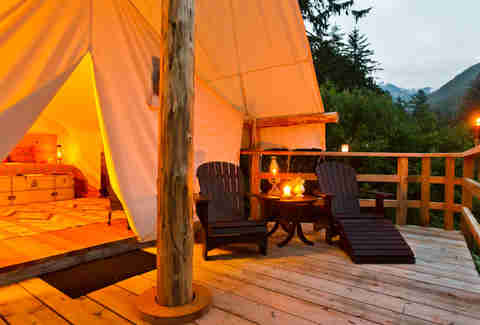 Clayoquot Resort tents
