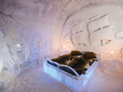Canadian ice hotel