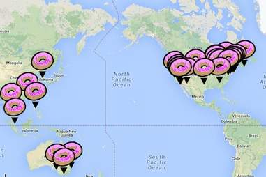 Cronut map.