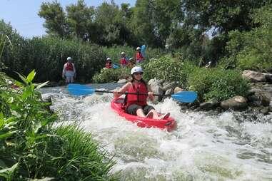 LA River Kayaking