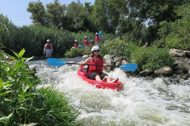 LA River Kayaking