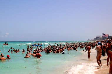 naked beach people