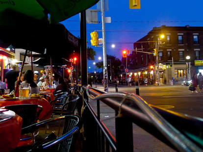 Toronto patio summer