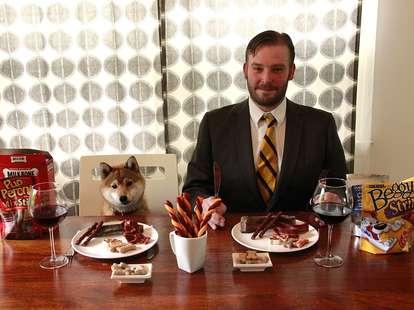 dog treat taste-test