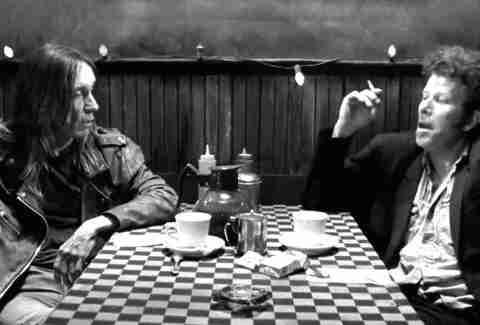 Coffee and Cigarettes Tom Waits Iggy Pop