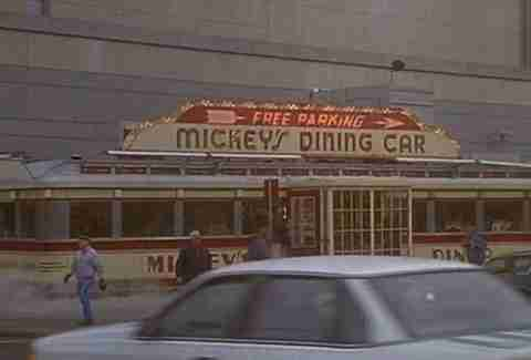 Mickey's Dining Car Mighty Ducks