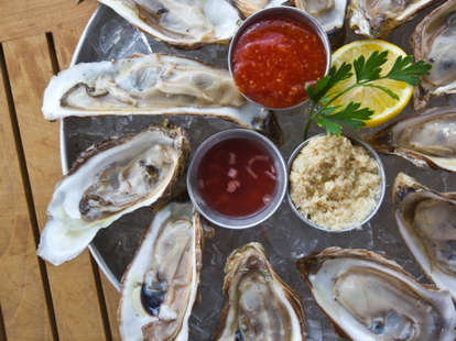 Oysters - Living food