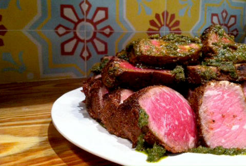 Beef tenderloin from Talula's Daily on Washington Square