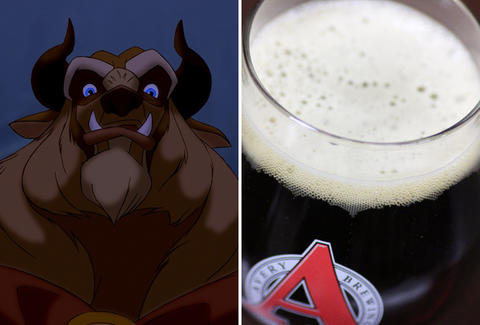 glass of Avery's The Beast