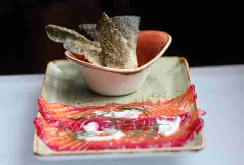 Gravlax at CH Distillery in the West Loop