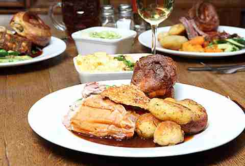 Marquis Cornwallis roast -- london