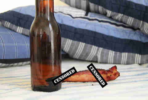 Bacon and beer sex