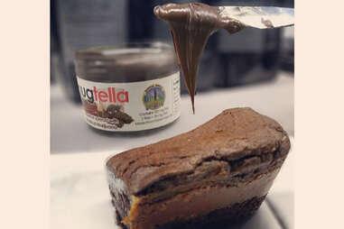 Nugtella brownie