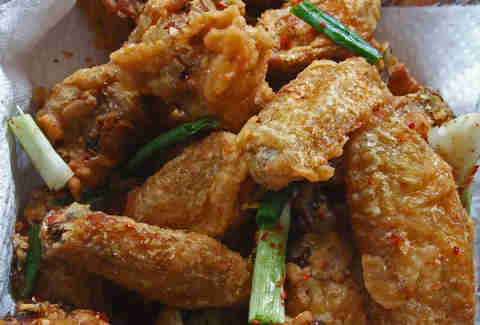 salted pepper chicken wings royal mandarin san diego