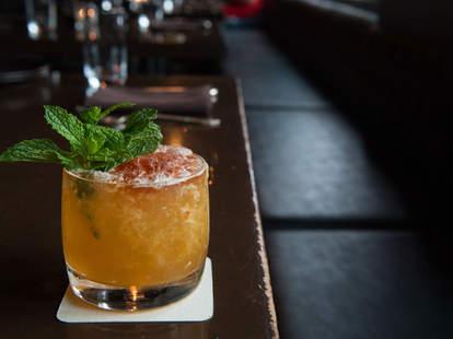 The Old Sage Summer Smash cocktail