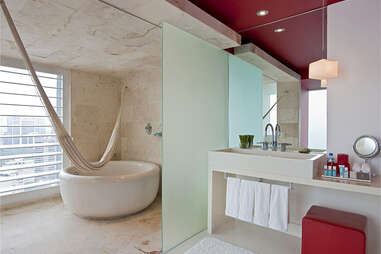Bathtub Hammock, W Hotel Mexico City - Mexico
