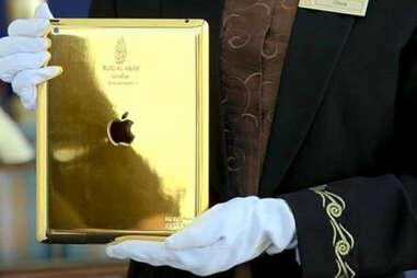 Gold iPad, Burj Al Arab - Dubai, India