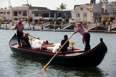 Gondola Massage, Loews Coronado Bay Resort, San Diego, CA