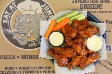 eat at jumbo's wings