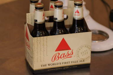 Bass Beer for boozy cupcakes